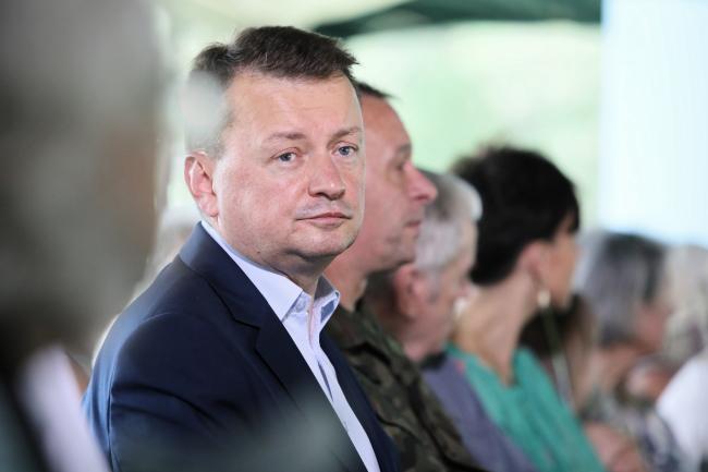 Міністар нацыянальнай абароны Польшчы Марыюш Блашчак.