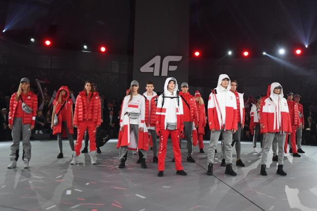 Poland's 2018 Olympic outfits. Photo: PAP/Bartłomiej Zborowski.