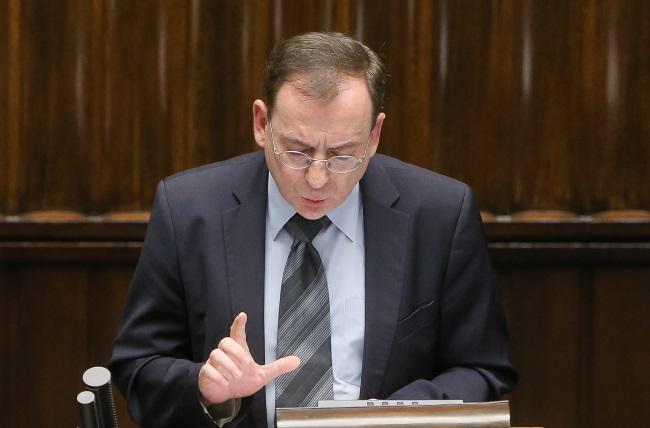 Mariusz Kamiński on Wednesday. Photo: PAP/Paweł Supernak