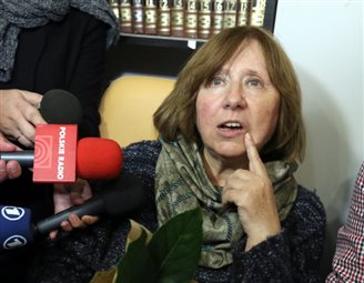 Poland's Reportage Institute hails Alexievich Nobel Prize