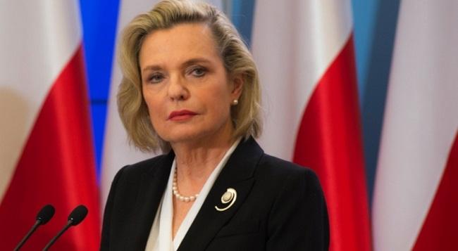 Представитель правительства по вопросам международного диалога Анна Мария Андерс.