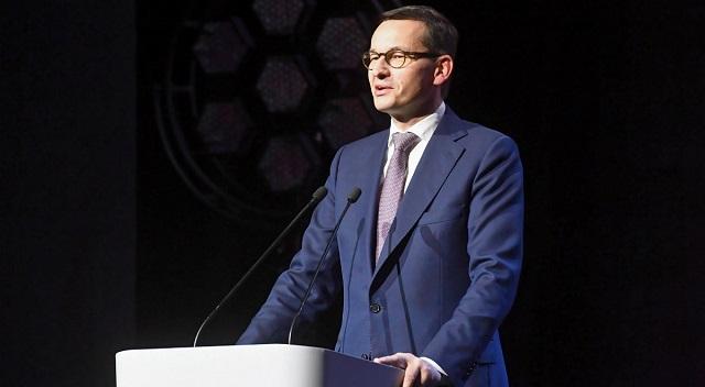"""Премьер-министр Польши Матеуш Моравецкий, один из участников """"кассетной аферы""""."""