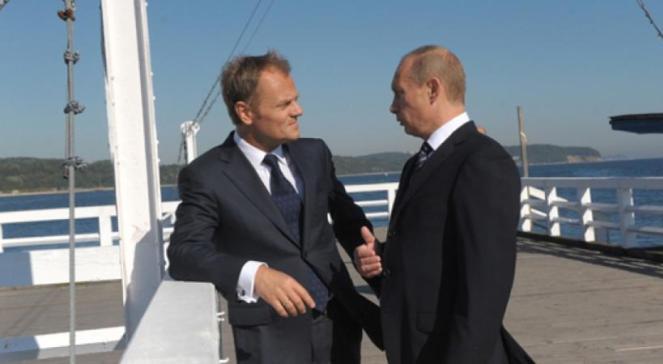 Дональд Туск і Владімір Путін у Сопоті, 1 вересня 2009 року