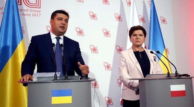 Premierzy Polski i Ukrainy