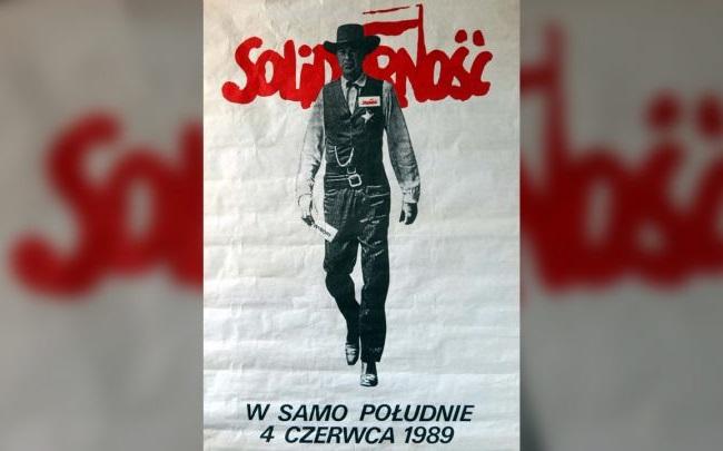 """Агитационный плакат """"Солидарности"""" на выборах 1989 года"""