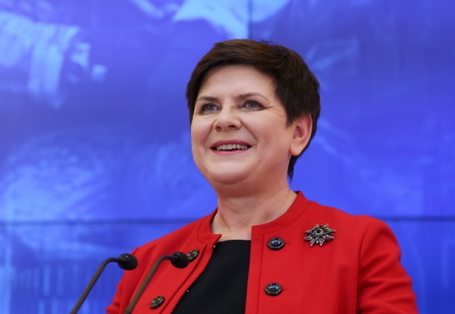 Polish Prime Minister Beata Szydło. Photo: PAP/Paweł Supernak.