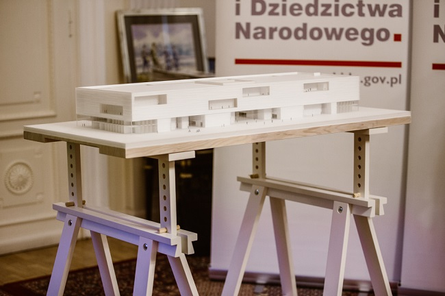 Model of the Polish History Museum. Photo: muzhp.pl.