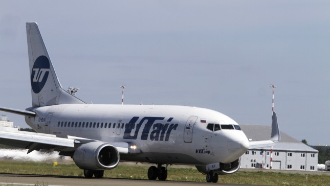 Пассажирский Boeing 737 российской авиакомпании UTair