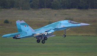 Столкновение российских истребителей Су-34: два пилота мертвы