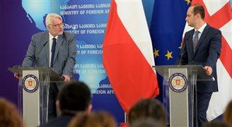 Polska popiera unijne aspiracje Gruzji