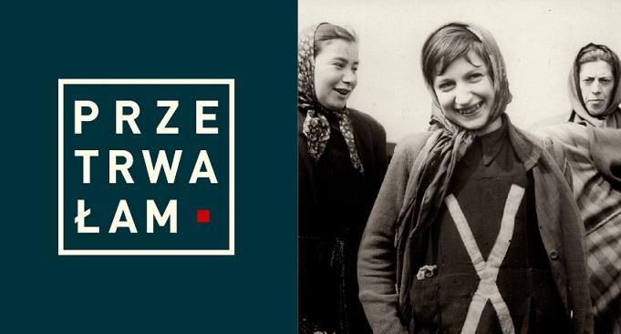 """Fragment okładki książki """"Przetrwałam. Doświadczenia kobiet więzionych w czasach nazizmu i stalinizmu"""""""