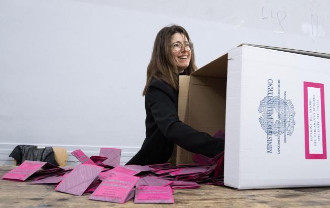 Подсчет голосов в Италии