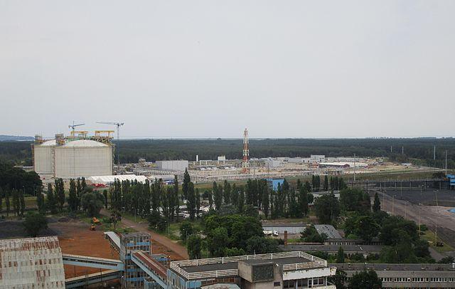 Термінал LNG імені президента Лєха Качинського в місті Свіноустя