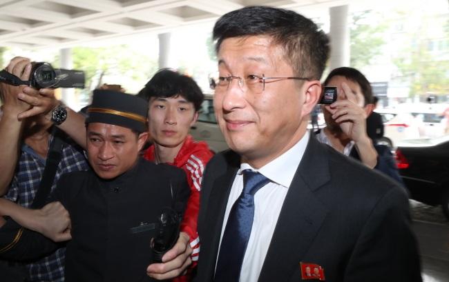 Cпецпредставитель КНДР по делам США Ким Хек Чхоль
