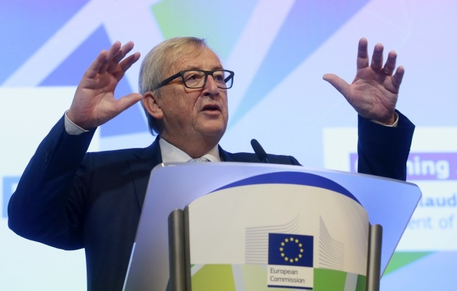 European Commission chief Jean-Claude Juncker. Photo: EPA/OLIVIER HOSLET