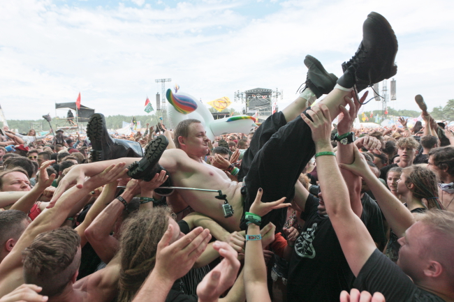 Przystanek Woodstock. Photo: PAP/Lech Muszyński.