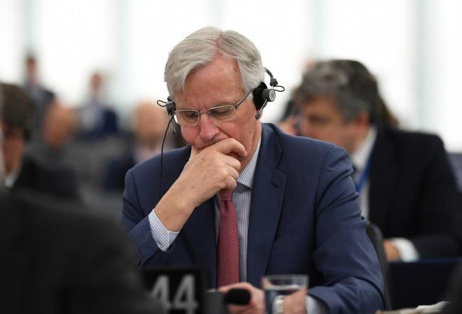 Michel Barnier. Photo: EPA/PATRICK SEEGER
