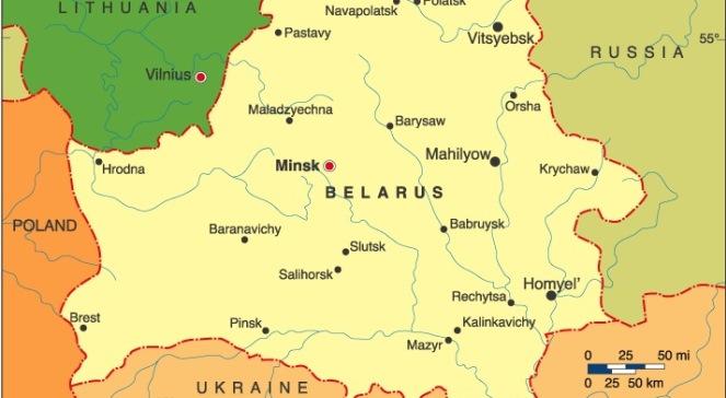 Карта Білорусі