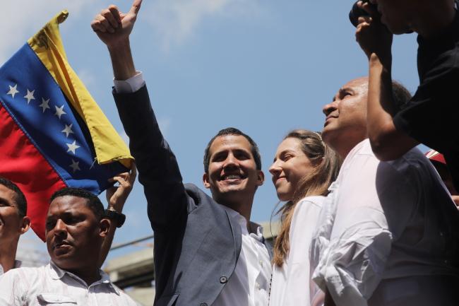 Лідер опозиції Хуйан Гуайдо