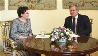 Cabinet reshuffle planned as Kopacz takes up PM post