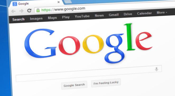 Logo wyszukiwarki Google - zdjęcie ilustracyjne