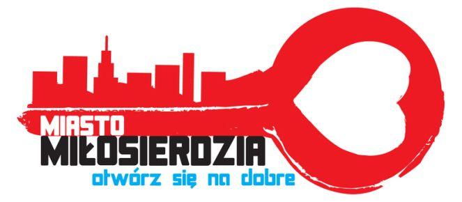 """Логотип проекта """"Город Милосердия. Откройся на добро""""."""
