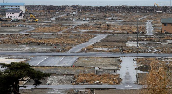 Miasto Miyaga w rok po przejściu fali tsunami