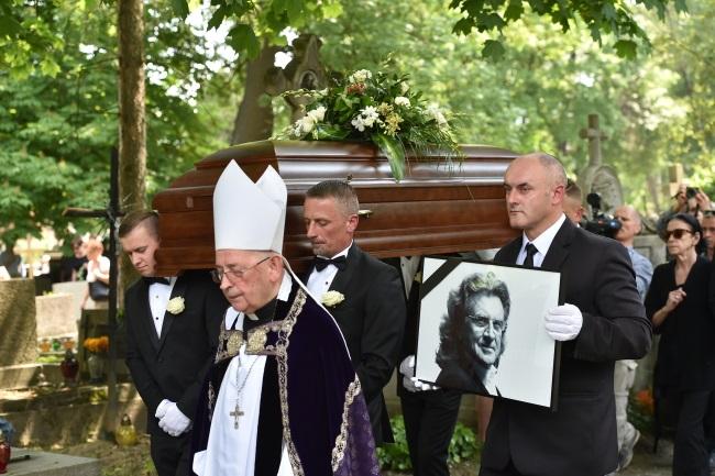 The funeral ceremony in Kraków. Photo: PAP/Jacek Bednarczyk