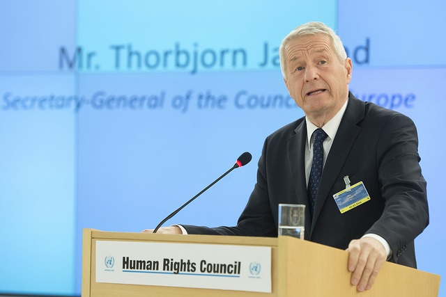 Thorbjorn Jagland. Photo: Flickr.com/UN Geneva