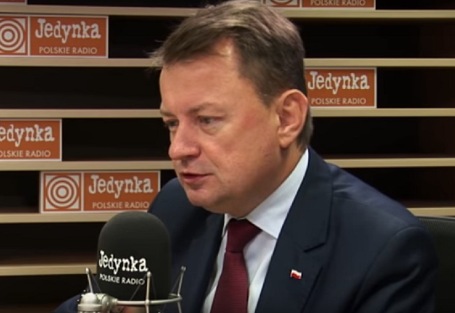Poland's Defence Minister Mariusz Błaszczak. Picture: Polish Radio