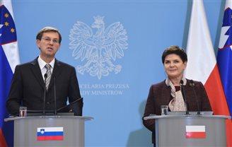 Премьер Польши встретилась с премьером Словении