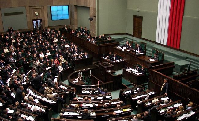 Sala plenarna Sejmu RP