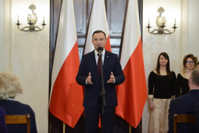 Andrzej Duda meets Poland's Armenian community. Photo: PAP/Jakub Kamiński