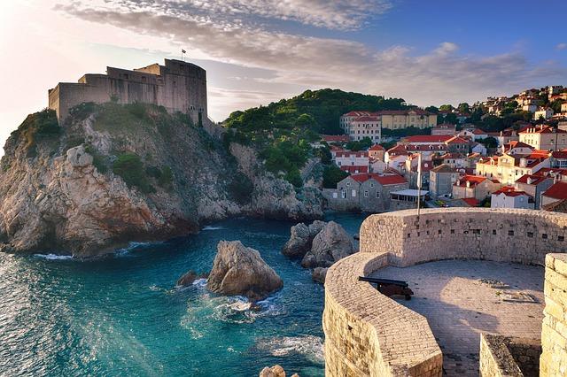 Хорватский пейзаж