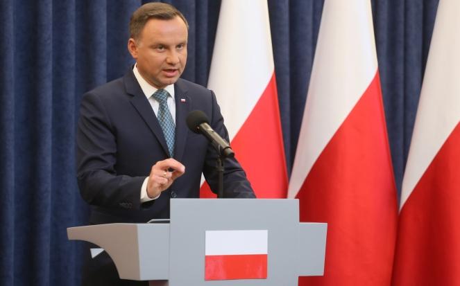 Президент Польщі Анджей Дуда