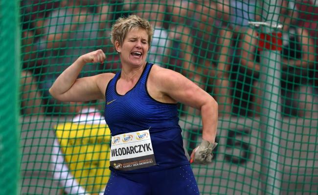 Anita Włodarczyk. Photo: PAP/Bartłomiej Zborowski