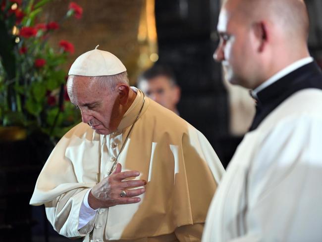 Pope Francis during World Youth Day in Kraków. Photo: EPA/DANIEL DAL ZENNARO