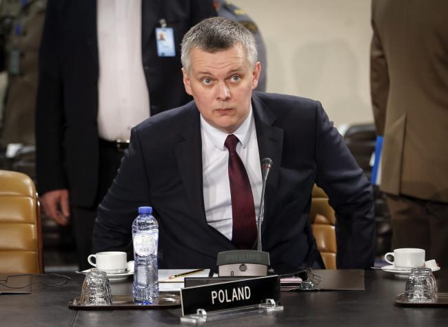 Polish Defence Minister Tomasz Siemoniak. Photo: PAP/EPA/OLIVIER HOSLET