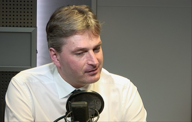British Conservative MP Daniel Kawczyński. Photo: Polish Radio