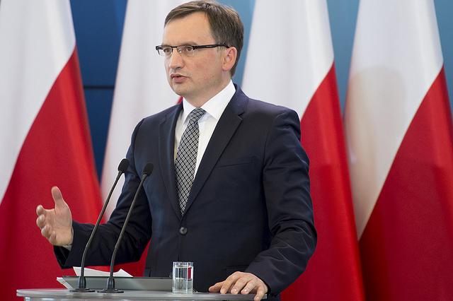 Justizminister Zbigniew Ziobro