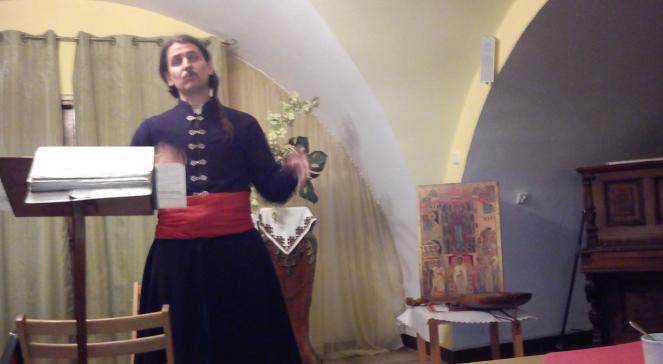 Тарас Компаніченко завітав до греко-католицької церкві отців Василіян на вулиці Медовій