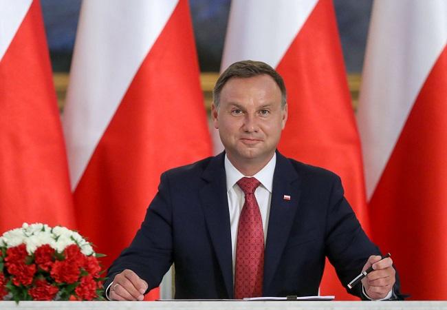 Andrzej Duda. Photo: Krzysztof Sitkowski/KPRP
