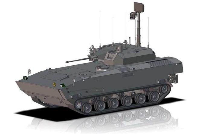 Бойова машина піхоти «Борсук»