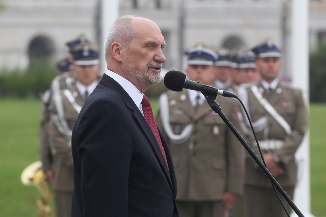 Defence Minister Antoni Macierewicz. Photo: PAP/Paweł Supernak