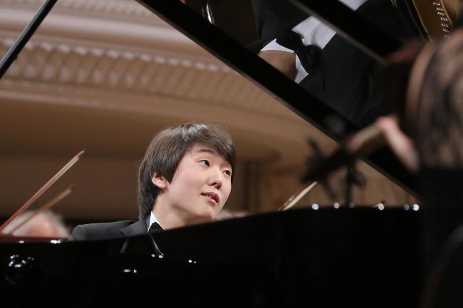 Seong-Jin Cho performs at the Warsaw Philharmonic. Photo: PAP/Paweł Supernak