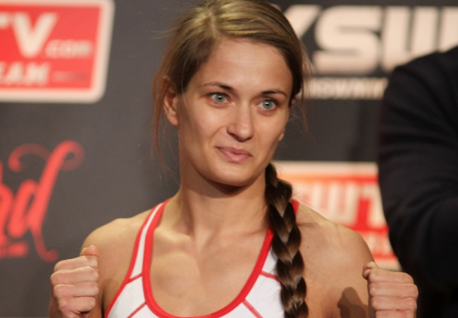 Karolina Kowalkiewicz. Photo: Roger Gor [CC BY 3.0 (http://creativecommons.org/licenses/by/3.0)], via Wikimedia Commons