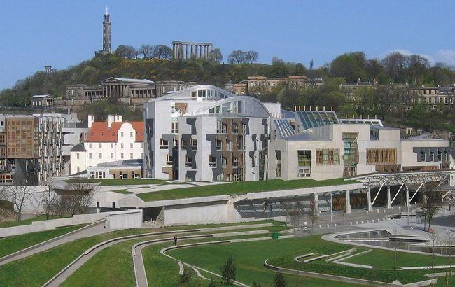 The Scottish Parliament, Edinburgh. Photo: wikicommons/Klaus K.