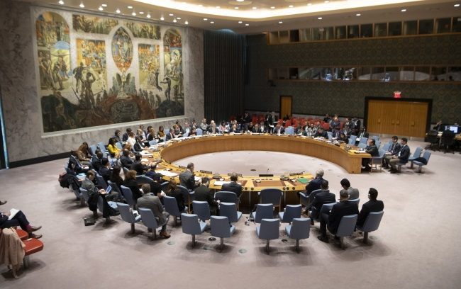 СБ ООН обсудил израильско-палестинский конфликт на экстренном заседании 26 марта