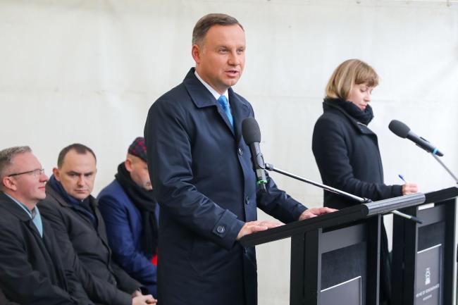 Andrzej Duda. Photo: PAP/KPRP/Jakub Szymczuk
