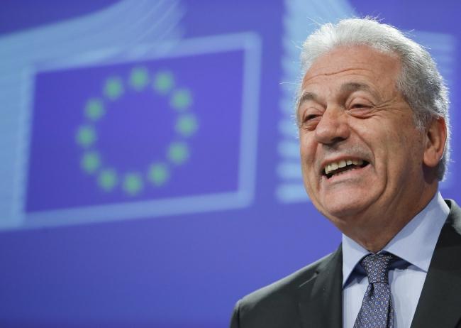 Єврокомісар з питань міграції Дімітріс Аврамопульос. Брюссель, 9 грудня 2016